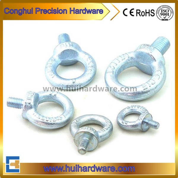 Blue Zinc Plated Drop Forged Galvanized Lifting Eye Bolt DIN580