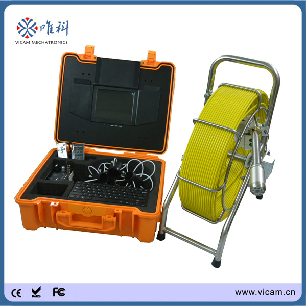 512Hz Sonde Locator Video Pipe CCTV Inspection Camera System (V8-3388T)