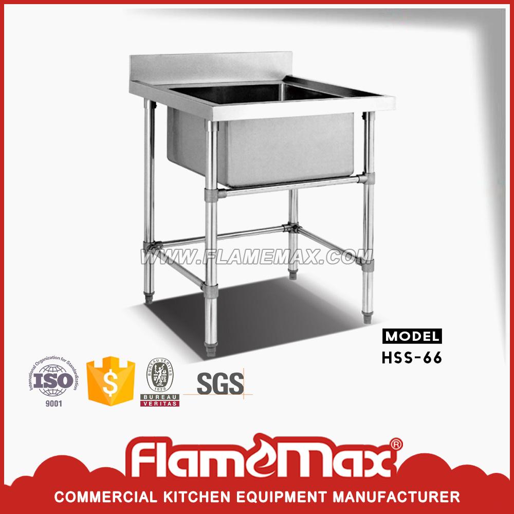 HSS-66 Stainless Steel Assembling Sink Table