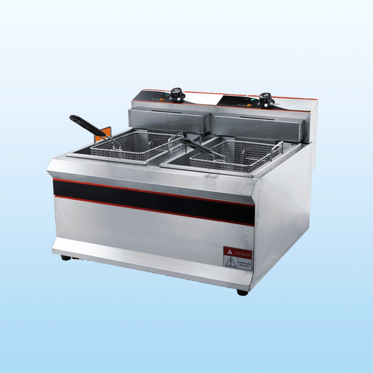 Electric Deep Fryer : China electric deep fryer df