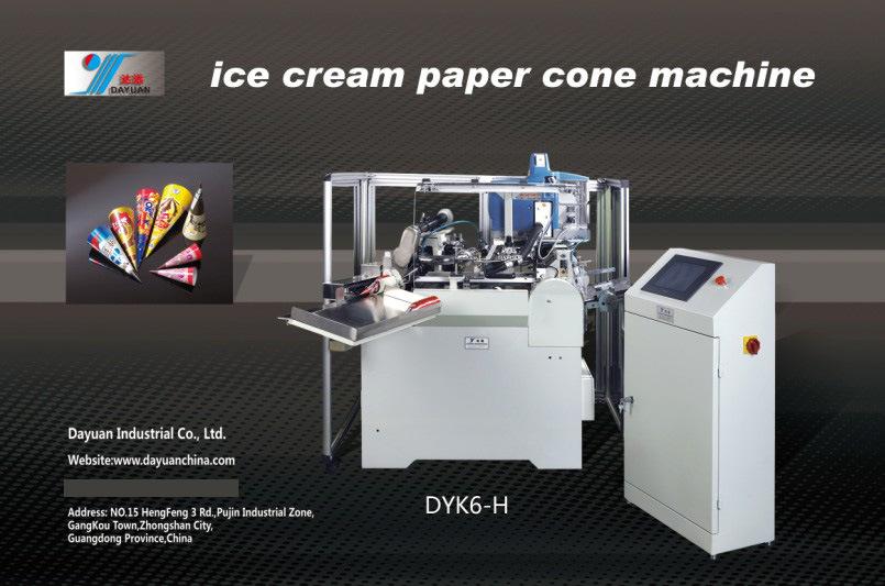 Ice Cream Cone Machine Machine (DYK6-B)