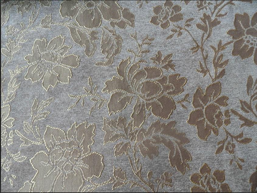 China Jacquard Chenille Fabric - China Pattern Flcok Fabric ...