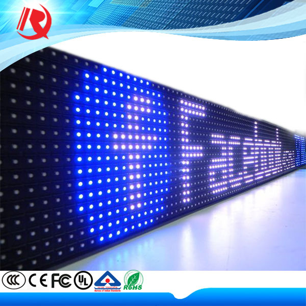 2016 Waterproof No Death Light Single Color P10mm SMD Outdoor LED Display Screen