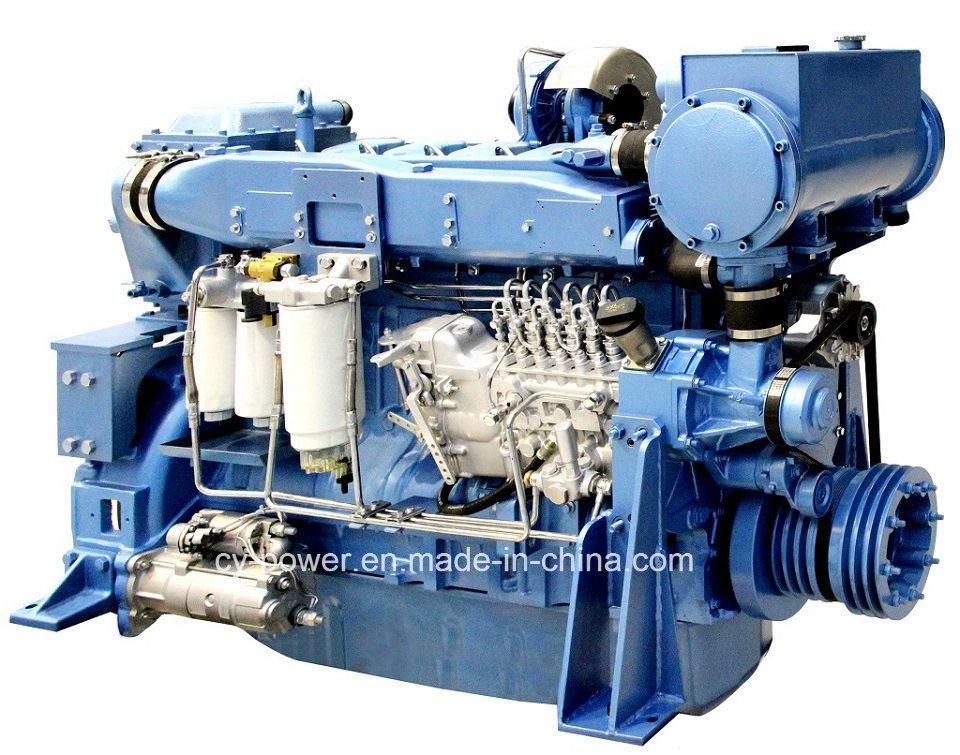 Wd12 Series Marine Engine, 240-294kw, Weichai