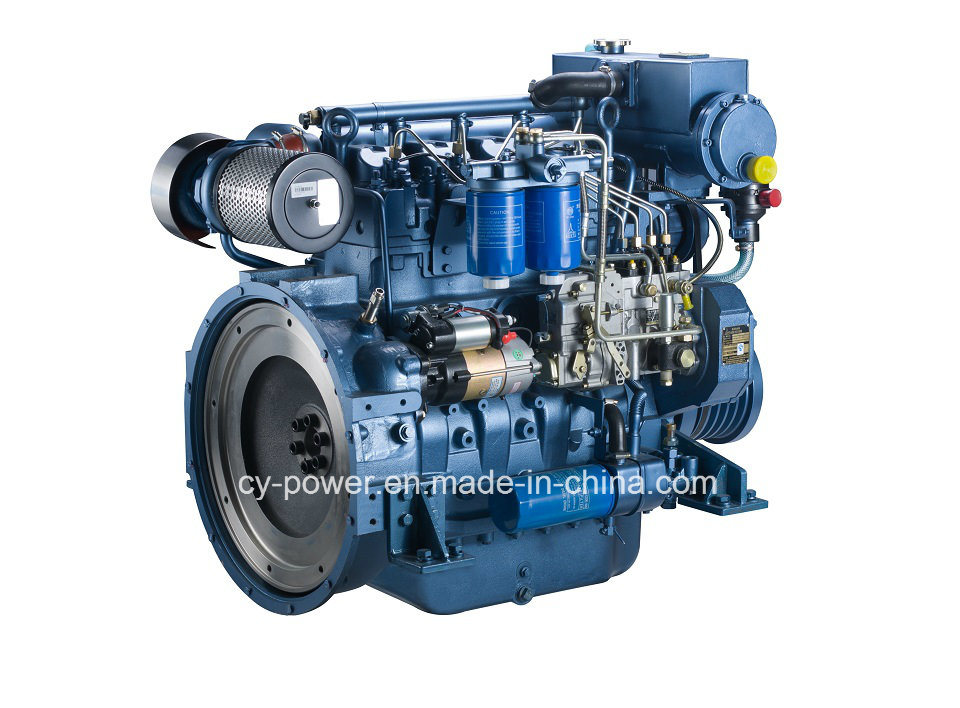 Wp4 Series Marine Engine, 60-75kw, Weichai
