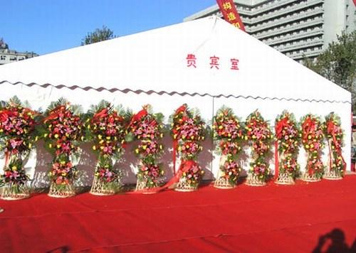 Outdoor Party Tent Wedding