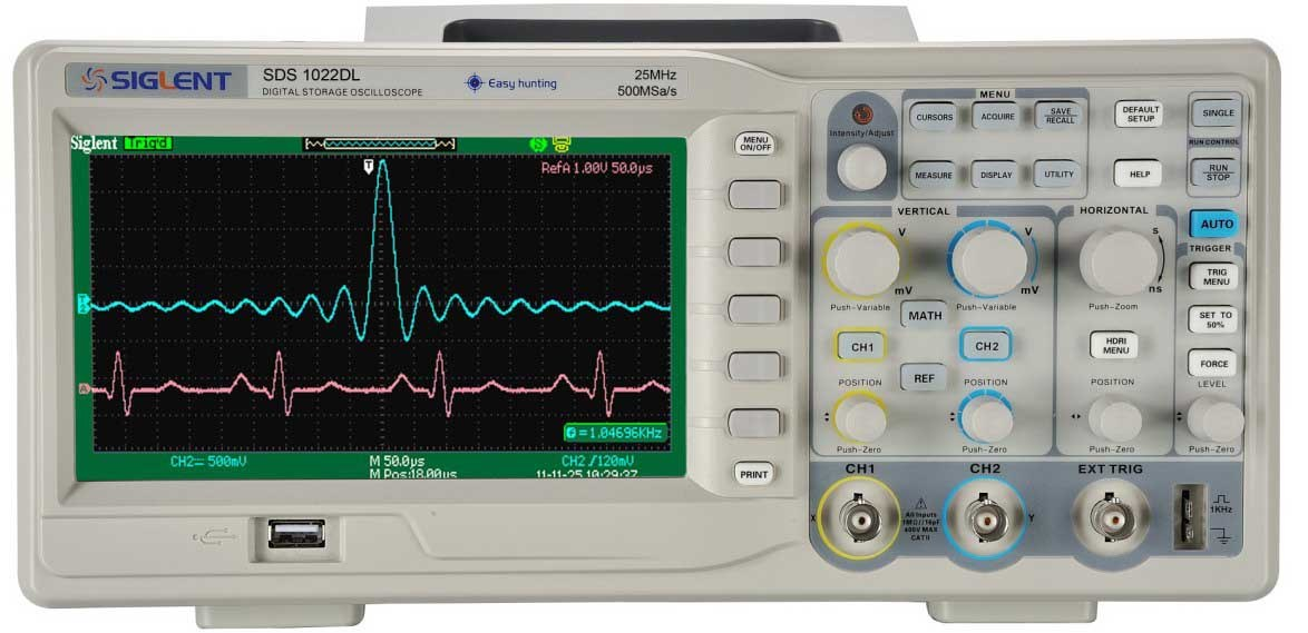 Digital Oscilloscope Basics : China mhz ′′ digital oscilloscope