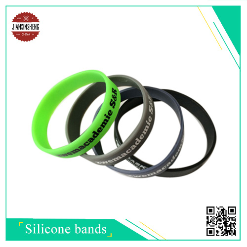 Simple Customized Silicone Band for Gift