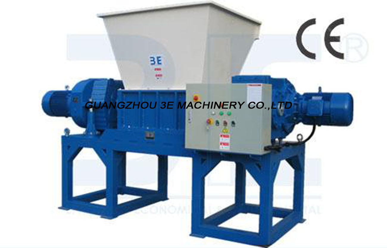 Double Shaft Shredder/Crushing Machine/Plastic Crusher/Plastic Shredder