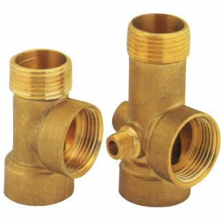 Pump Brass Fitting, Brass Connection (3WAYS)