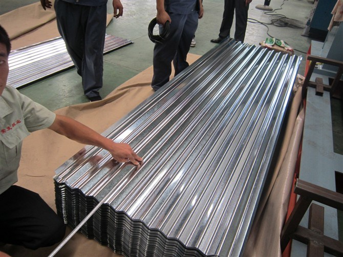 Galvanized Corrugated Steel Sheet for Outside Wall or Roof