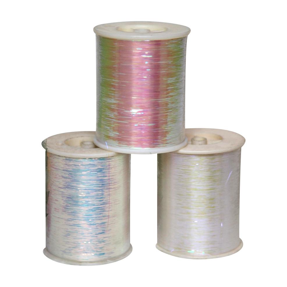 Rainbow Pearl Color Metallic Yarn Polyester Yarn