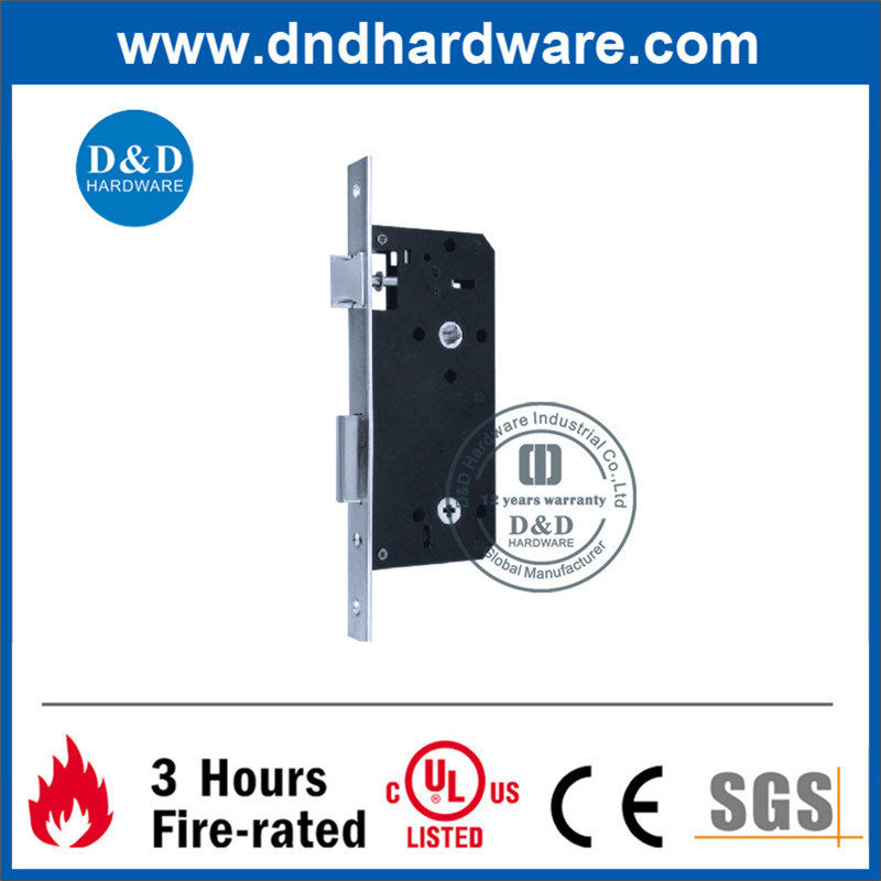 No Key Operated Brass Mortise Lock
