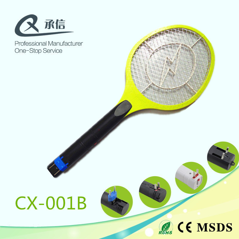 High Quality Battery Rechargeable Electric Mosquito Insect Killer Trap, Pest Control Swatter Bat
