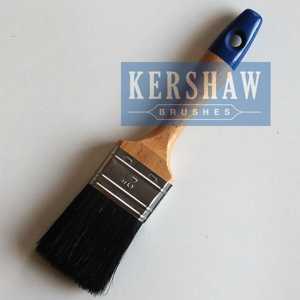 Paint Brush (Flat brush with pure natural black bristle BT-001)