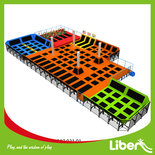 Ce Approved Customized China Trampoline Park Builder