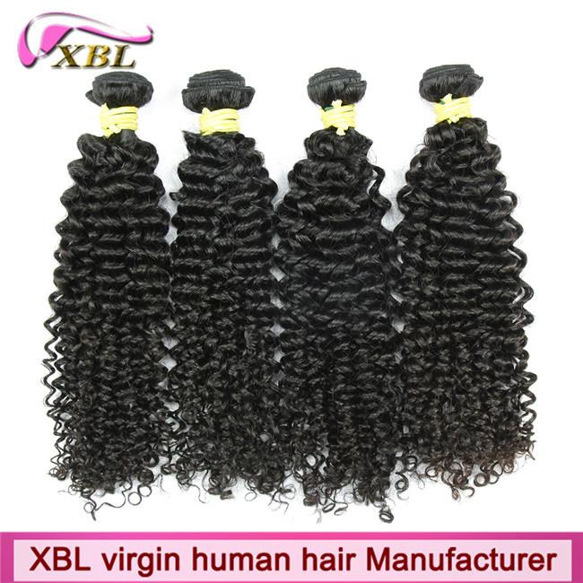 Natural Human Hair Weft Unprocessed Virgin Peruvian Hair Extension