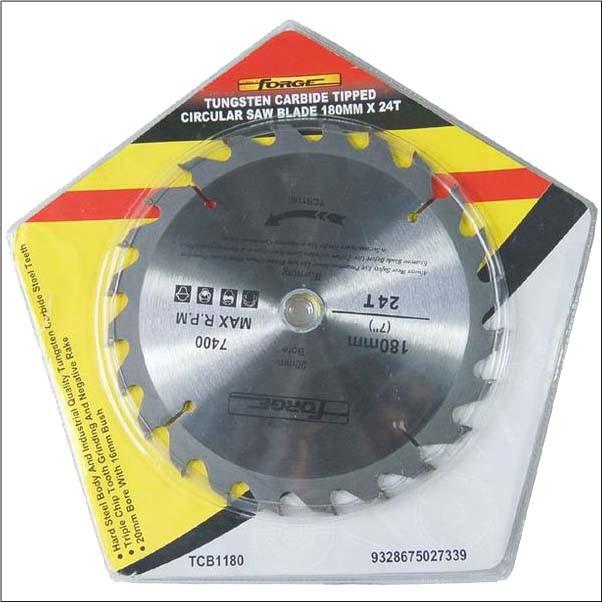 180mm*24T Tungsten Carbide Tipped (TCT) Circular Saw Blade