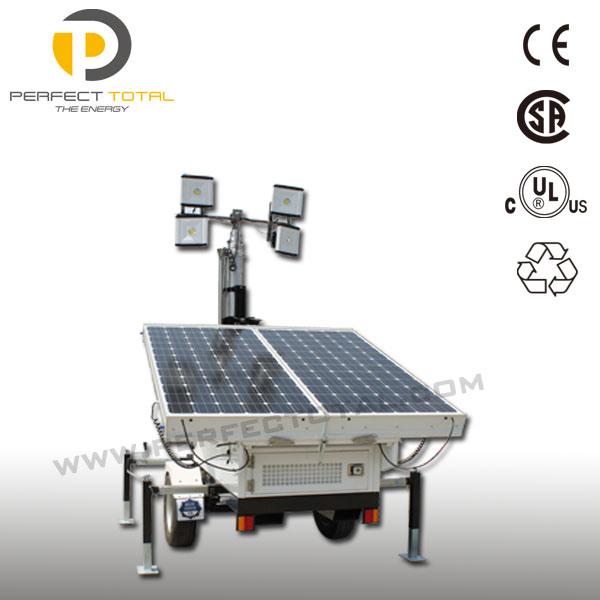 400W Mobile Solar Tower Light