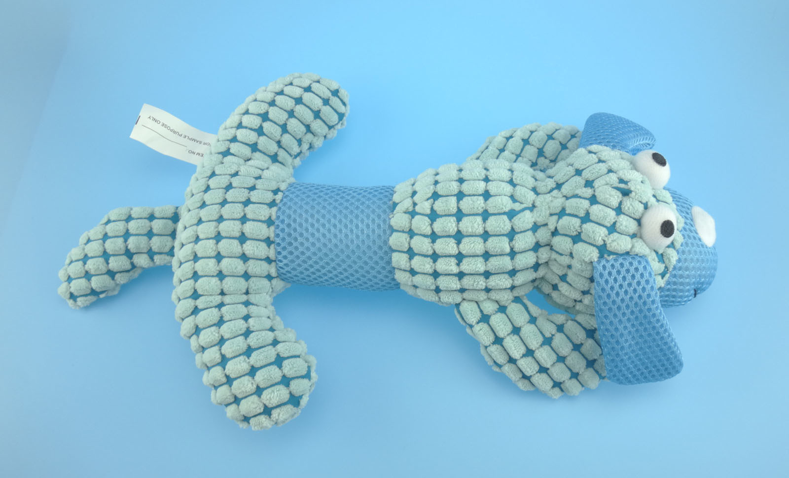 Plush Dog Toy, Plush Pet Toy with Squeaker 3 Asst.