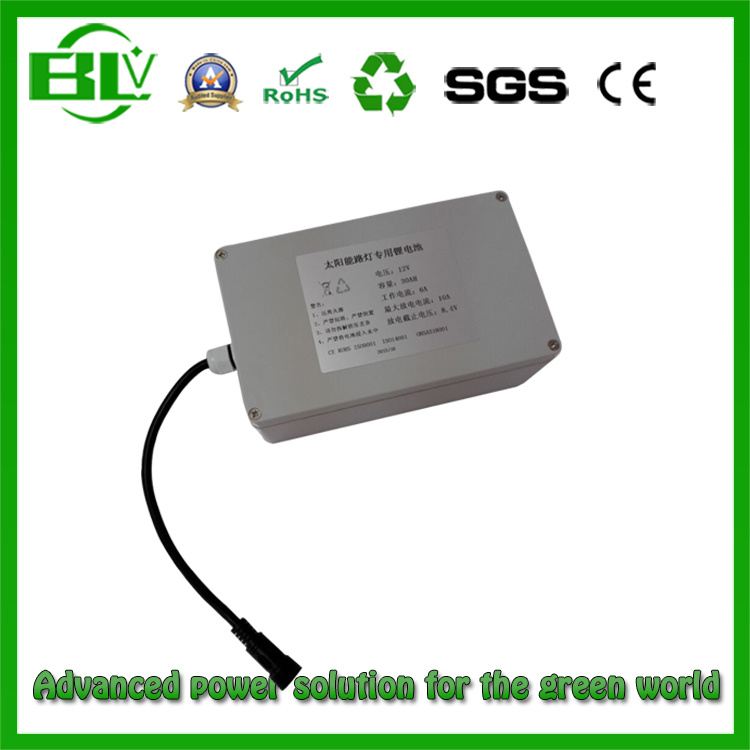 Lithium Ion Battery Pack Solar Street Light Battery 12V 50ah 30ah LiFePO4 Battery Pack Solar Energy Storage Battery