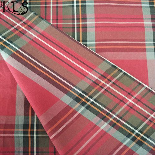 Cotton Poplin Woven Yarn Dyed Fabric for Garments Shirts/Dress Rls60-6po