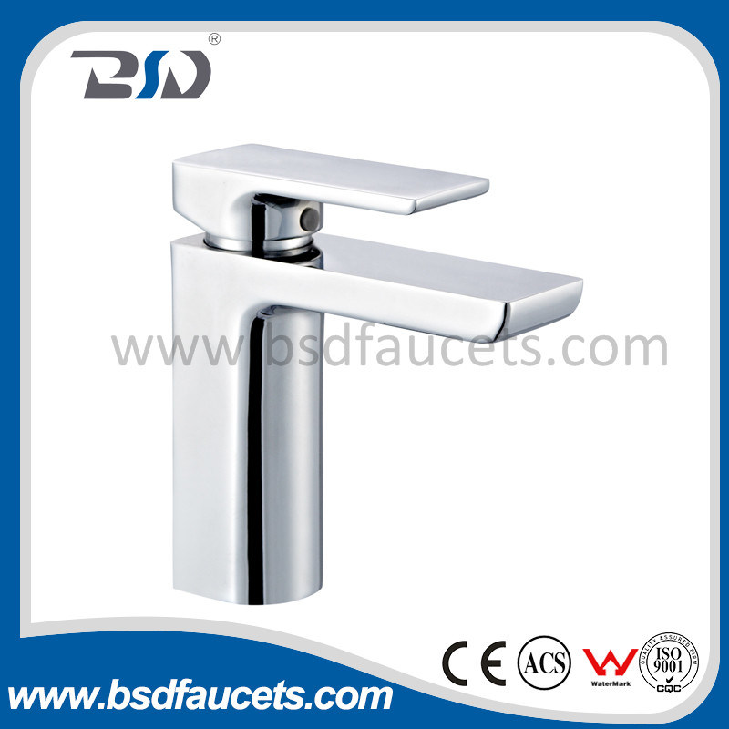 Watermark Wels Brass Chrome One Handle Bathroom Basin Mixer Faucet