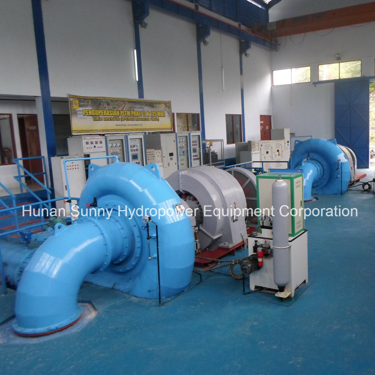 Hydro (Water) Francis Turbine-Generator Sfw-500 500kw Low Voltage0.4kv/ Hydropower Alternator