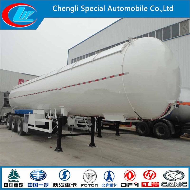 Tri Axle 56cbm Petroleum Tank Trailer 56000liters Best Selling LPG Tank Semi Trailer Good Quelity LPG Tubes Trailer Nigeria