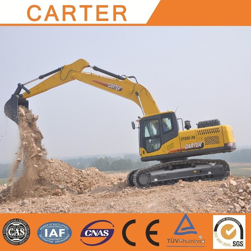 Hot Sales Carter CT220-8c Multifunction Heavy Duty Hydraulic Crawler Excavator
