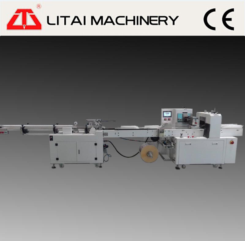 Automatic Plastic Cup Counting Sealing Packing Machine