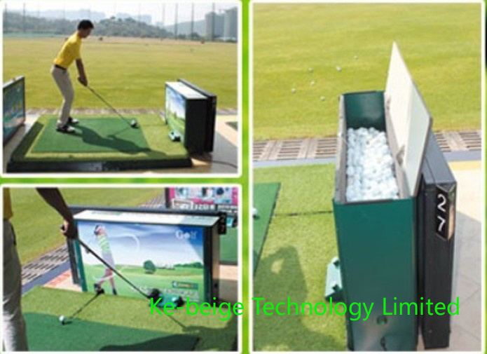 Automatic Golf Ball Teeing System Golf Ball Auto Tee up Machine