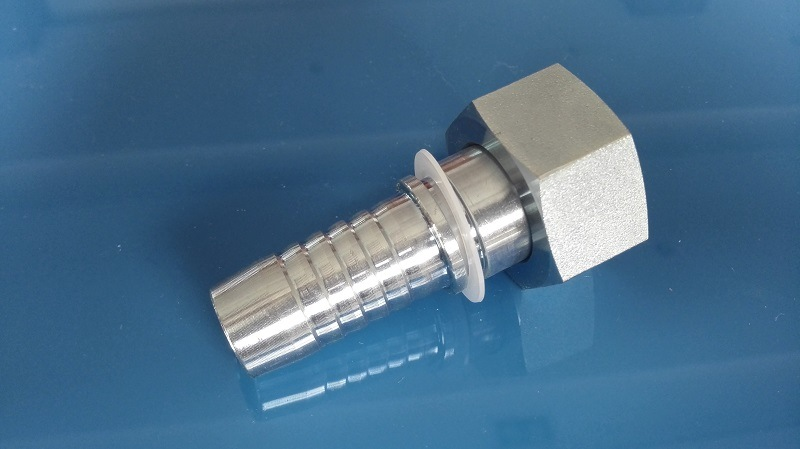 DIN Metric Heavy Female Hose Fitting Straight (20511)