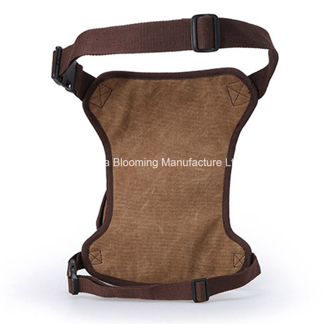 Men Canvas Military Rider Saddlebag Fanny Pack Belt Waist Bag