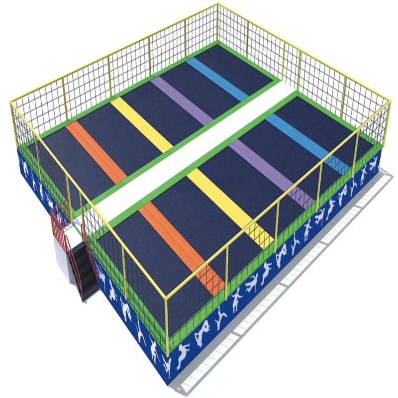 2016 New Design Jumping Trampoline Indoor Park