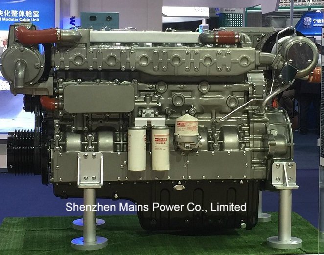 600HP 1500rpm Yuchai Marine Diesel Engine Fishing Boat Motor