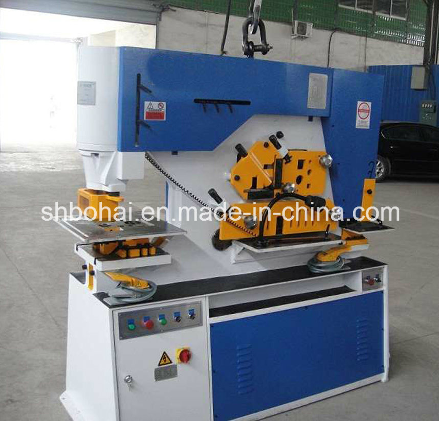 Q35y-20 (90T) Hydraulic Iron Worker, Multi Functional Hydraulic Ironworker