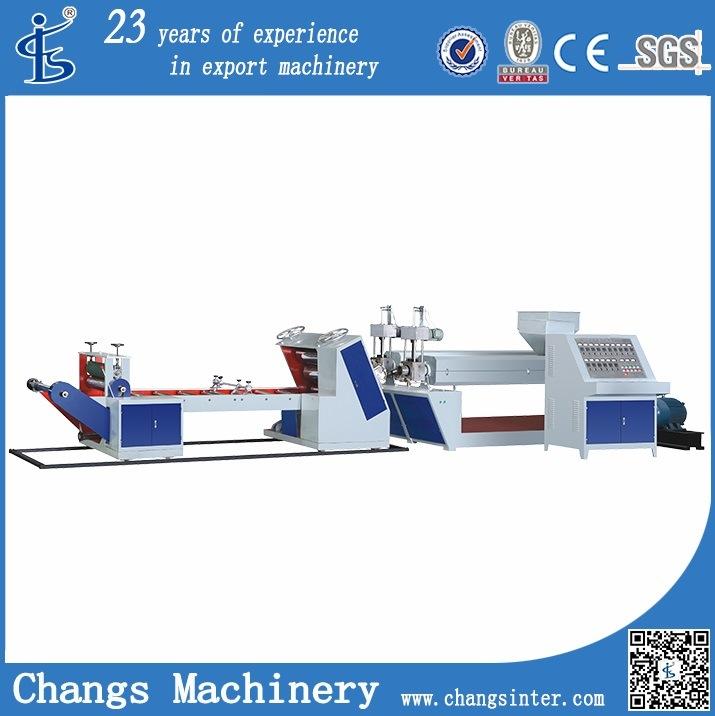 Double-Layer Plastic Sheet Extruder Machine