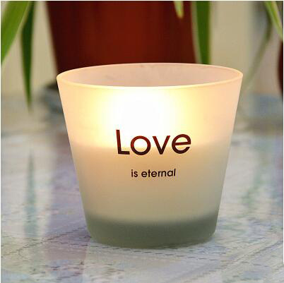 Himalayan Pine 175g Scented Frosted Glass Candle