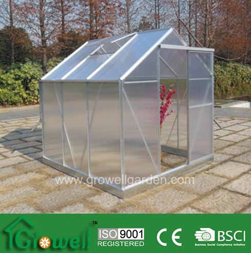 Growell 4mm Economic Wake-in Greenhouse (SG6)