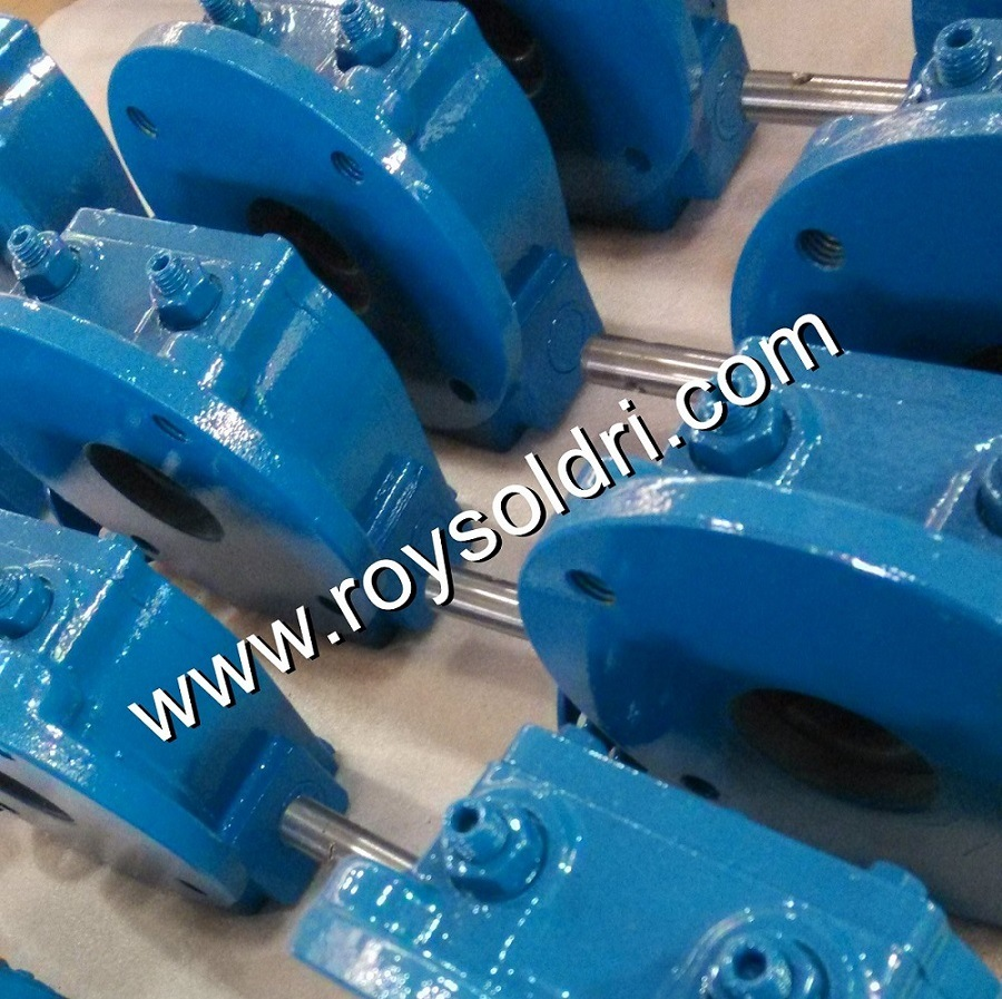 Rhw02 Part-Turn Worm Gearbox