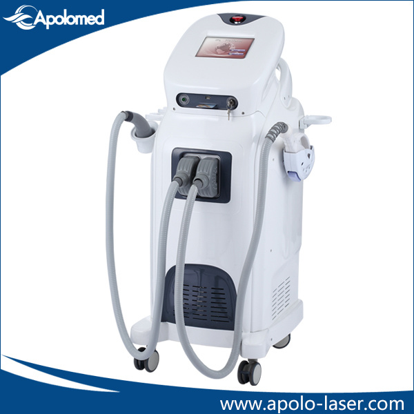 Floor Standing IPL RF Acne Treatment and Anti-Aging Beauty Device