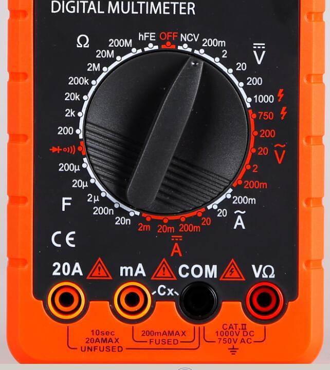 Digital Multimeter (KH890D) with Ce and UL Certification