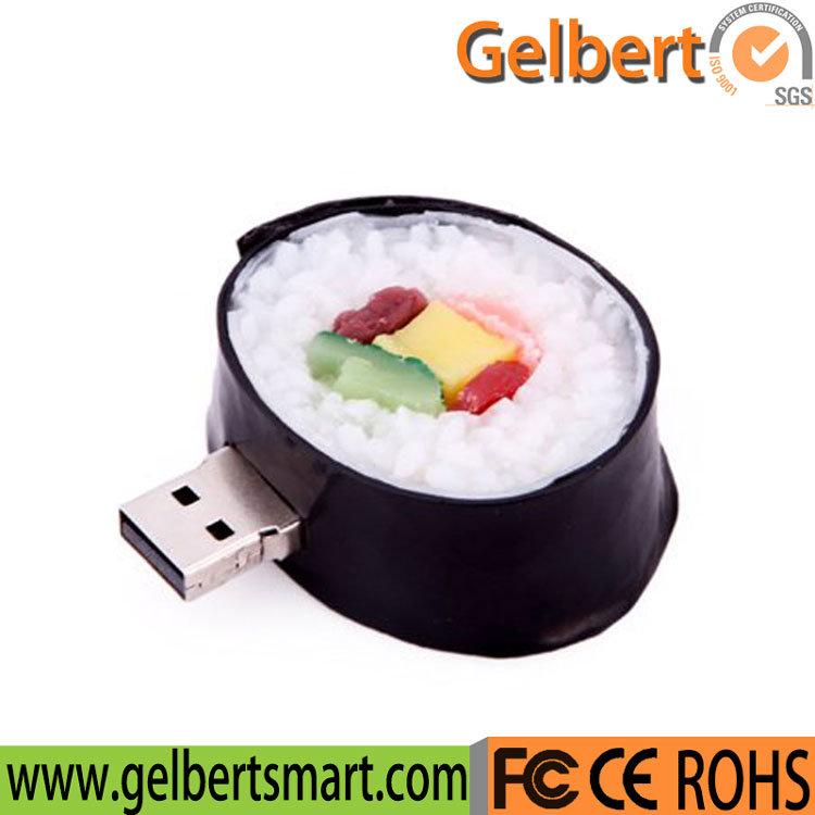 New Sushi Roll Food Model PVC USB 2.0 Flash Drive