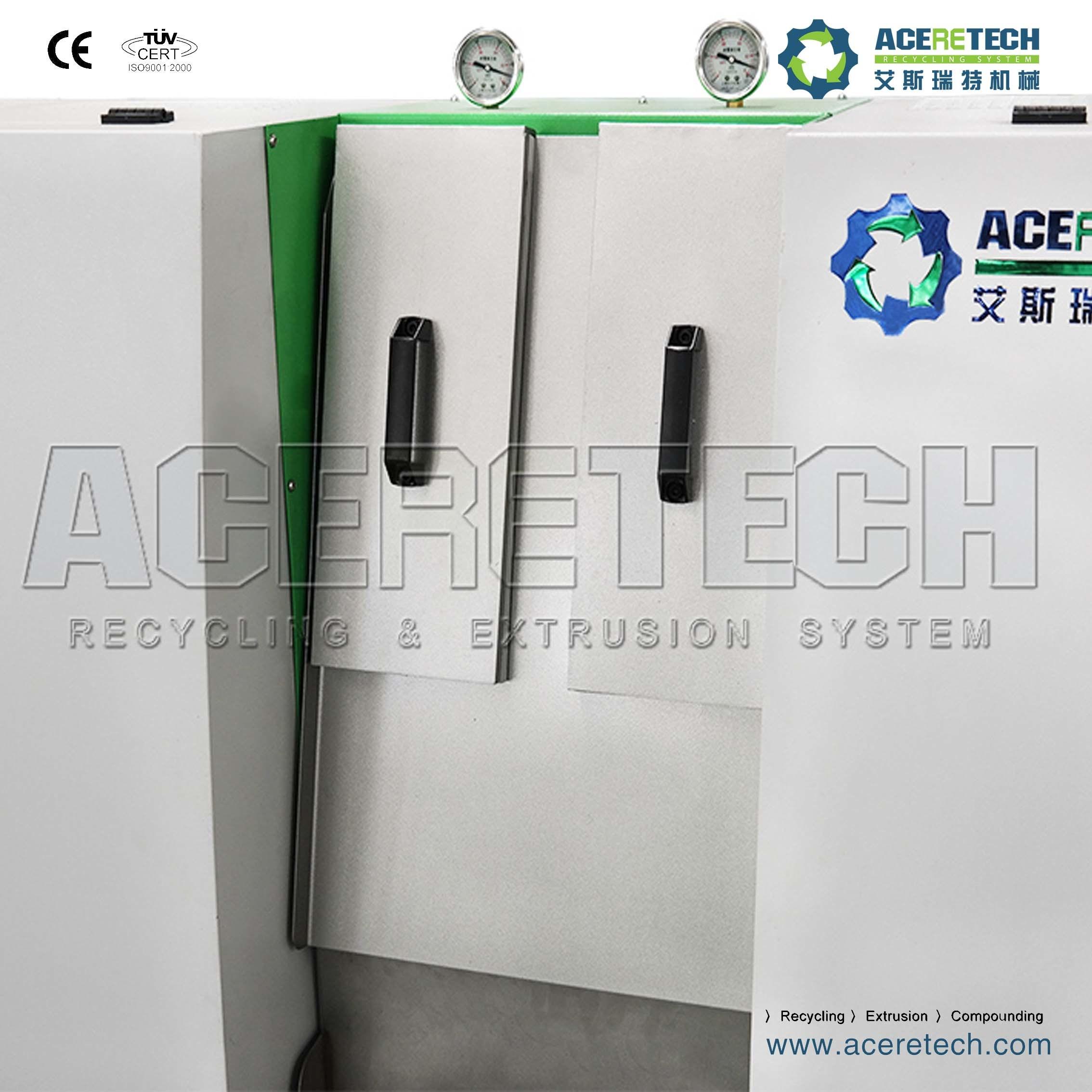 Full Automatic Single Screw Plastic Recycling Granulator Machine