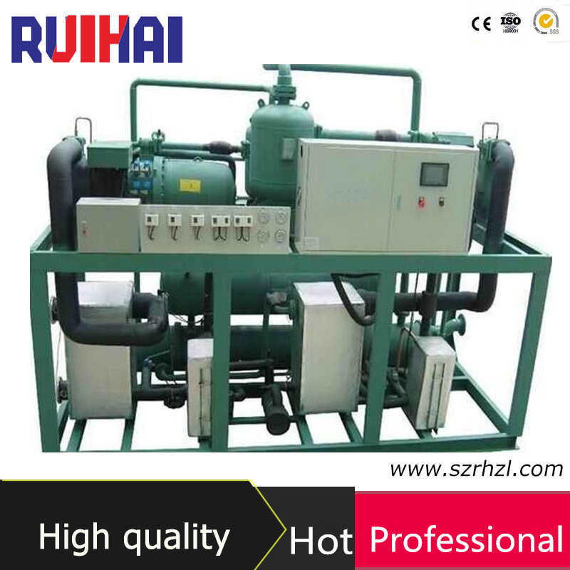 153kw Ultra Low Temperature Screw Water Chiller for Cooling Industry Equipment