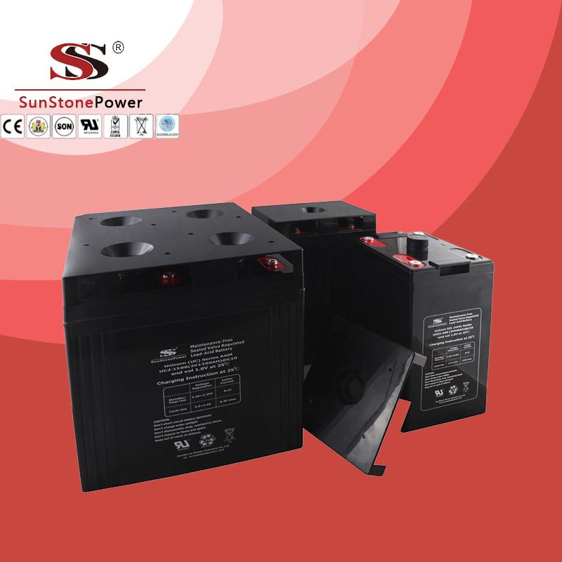 Lead Acid Deep Cycle VRLA Battery 2V 500ah