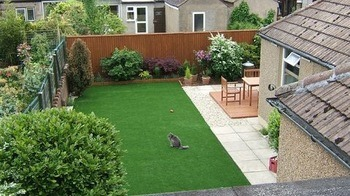 Customized Nature Look Artificial Grass, Could Be for Roof