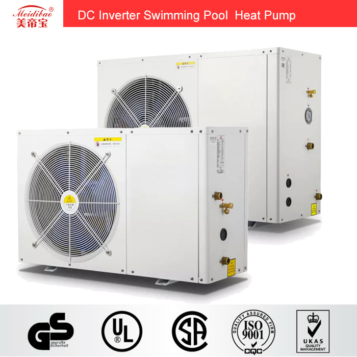 3kw DC Inverter Swimming Pool Heat Pump for Pool Heating