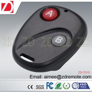 4 Button Plastic Univeral Copy Remote Control for Fix Code for Garage Door